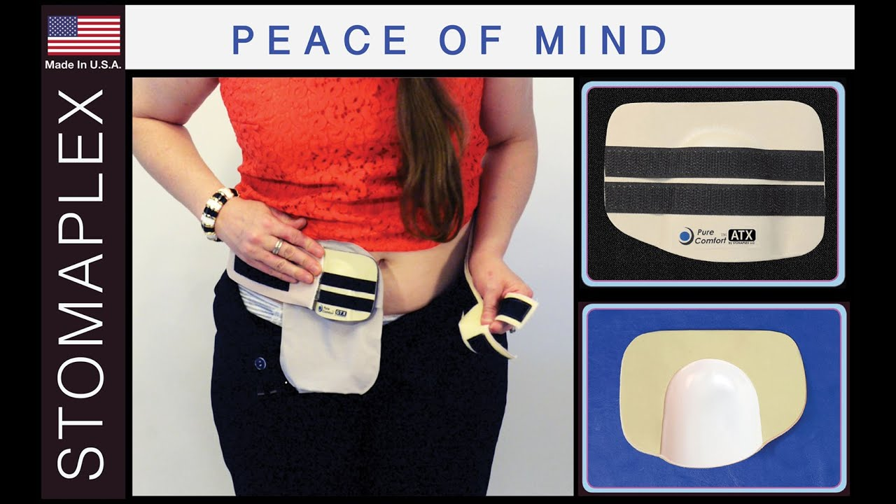 Pure-Comfort Stoma Guard and Ostomy Belt for Women by Stomaplex