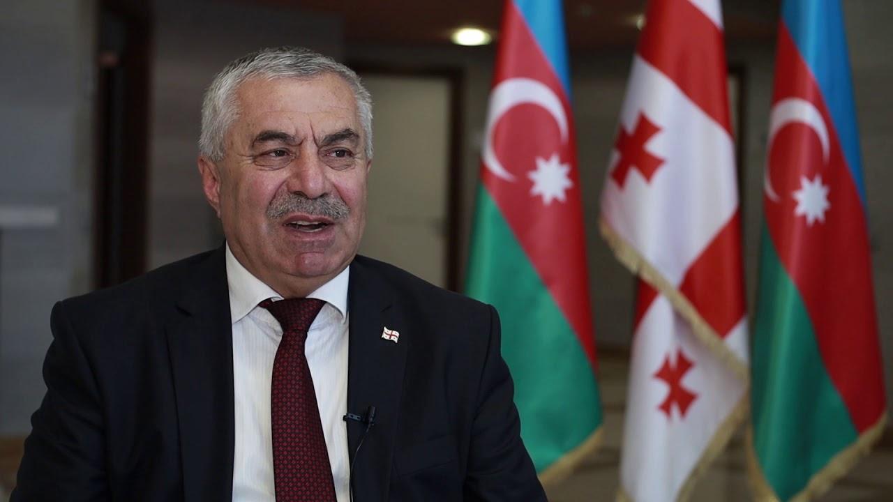 Gürcüstan Parlamentinin deputatı Mahir Dərziyev - YouTube