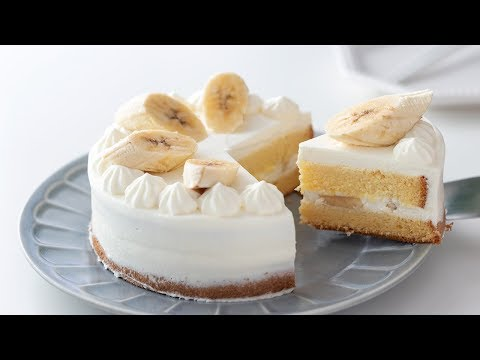 バナナ・ショートケーキの作り方 Banana Shortcake|HidaMari Cooking