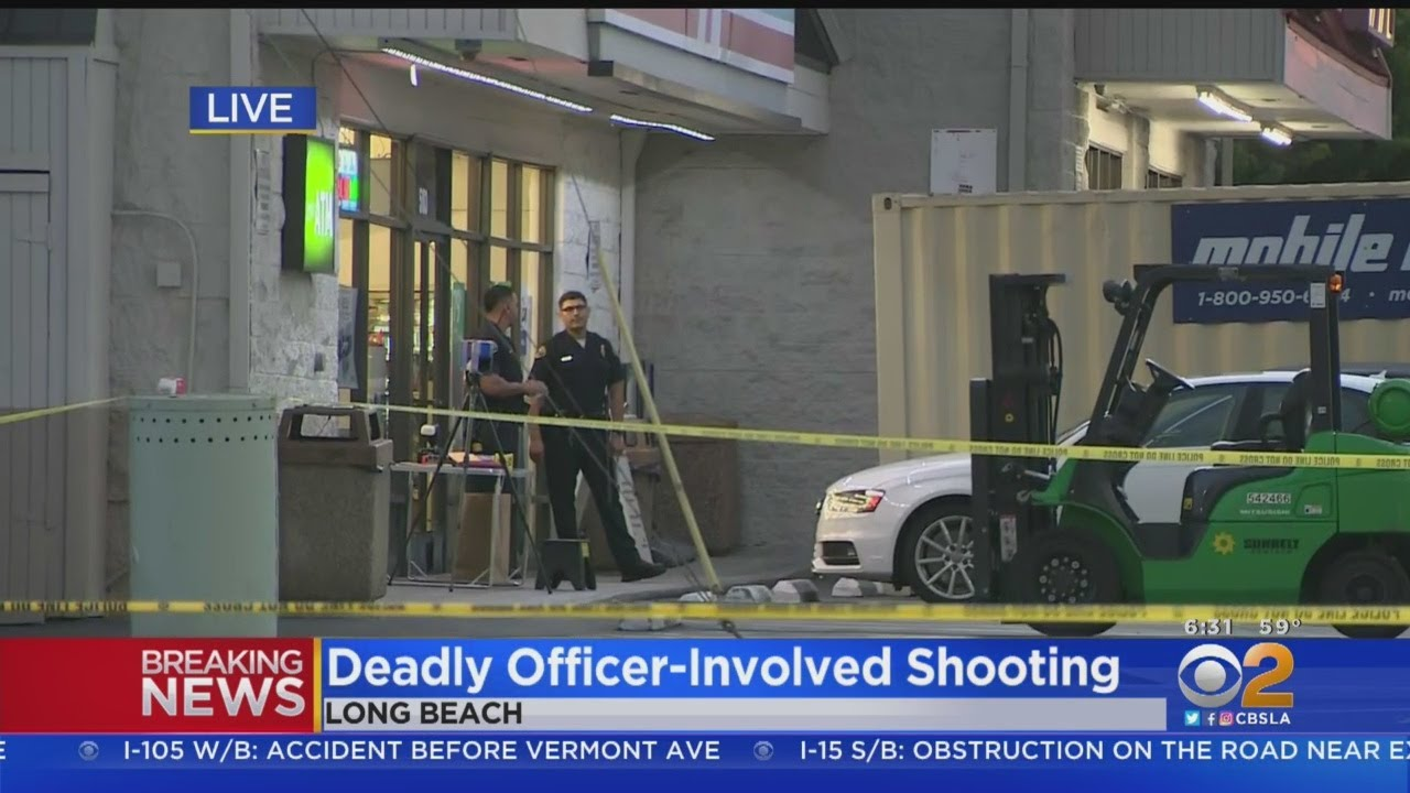 Armed Robbery Suspect Shot By Police In Long Beach