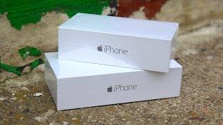 iPhone 6 Vs. iPhone 6 Plus: Unboxing & erster Eindruck! - felixba