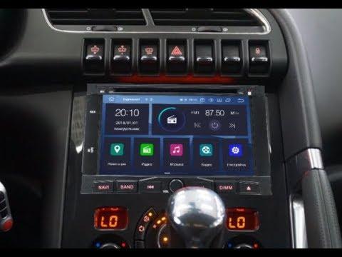 Штатная магнитола Peugeot 3008/5008 (2010-2017) 8 Core Android 9 RV-5738