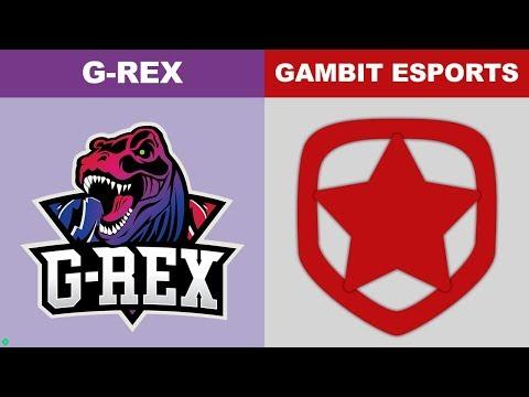 GRX vs GMB - Worlds 2018 Play In Round 1 - G-Rex vs Gambit