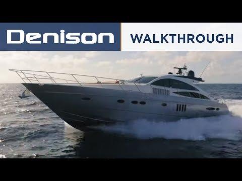 Princess V70 Sport Yacht Tour