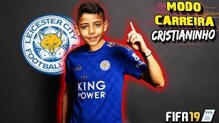 FIFA 19 - CARREIRA CR7 JR. #06 - CRISTIANO RONALDO JR. FOI CONTRATADO PELO LEICESTER CITY 💪⚽