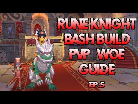 Rune Knight Bash Build PVP/WOE Guide