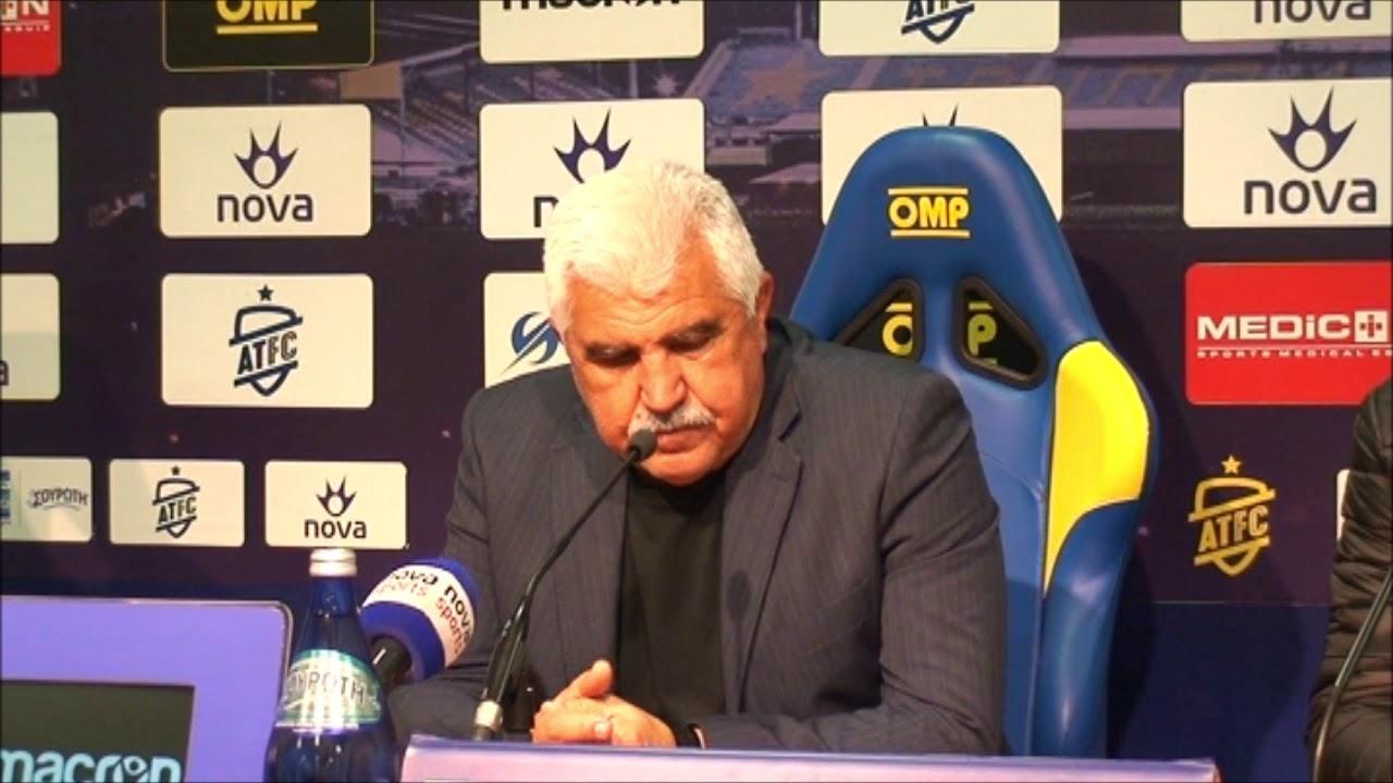 Γιώργος Παράσχος-Προπονητής Αστέρα Τρίπολης