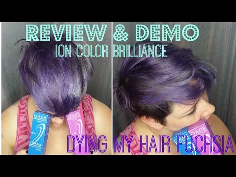 Review & Demo: Ion Color Brilliance in Fuchsia | Dying My Hair Purple | Zlinka B.E.A.uty