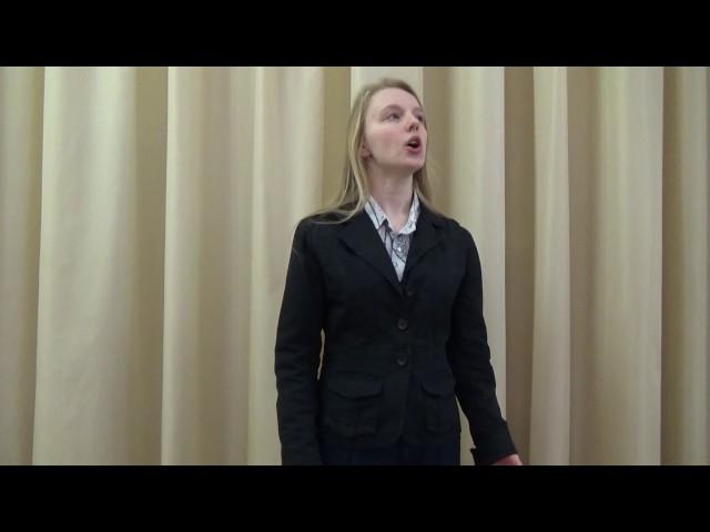 Изображение предпросмотра прочтения – ВалерияЛяшенко читает произведение «Послушайте! (Послушайте! Ведь, если звезды зажигают…)» В.В.Маяковского