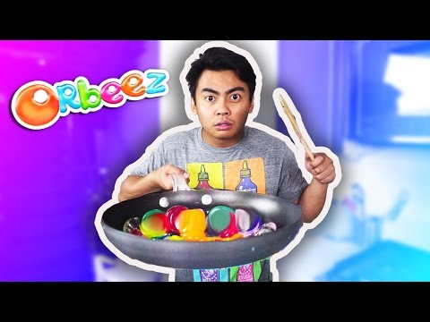 Thumbnail: Do Not Cook GIANT ORBEEZ!