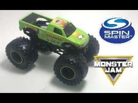 #Spinmaster #MonsterJam #Mix07 Spin Master Monster Jam Mix 07 Avenger S10 Review