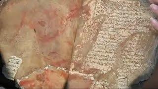أخبار الان كانت شاهدة على حرق مخطوطات مركز بابا احمد الثمينة