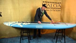 KIALOA Aloha SUP Board and Paddle Package