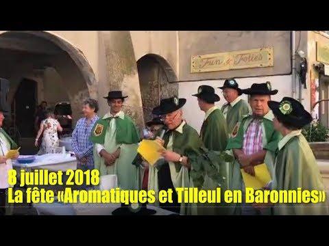"""sem27 8juillet la fête """"Aromatiques et tilleul en Baronnies"""""""
