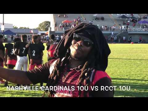 """Defense"" 10u 2018 Nashville Cardinals BBB vs Rutherford County Crimson Tide BBB..*Tennessee*"
