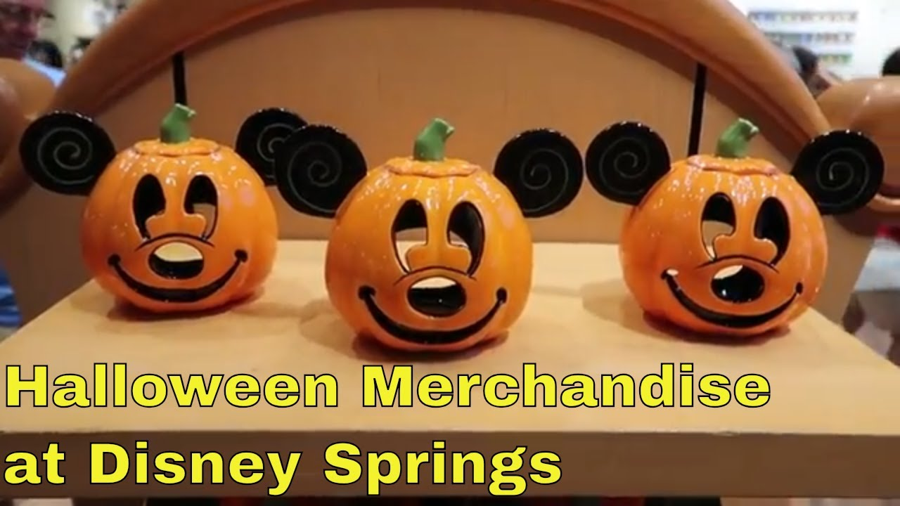 disney world halloween merchandise 2018 - youtube