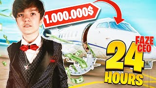 I BOUGHT A PRIVATE JET AS NEW CEO OF FAZE CLAN!! *Backfired*
