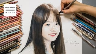 figcaption IOI - 소혜그림 그리기 (Speed Drawing IOI_Sohye)[Drawing Hands]