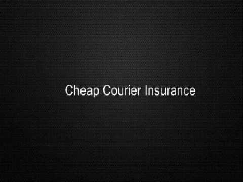 Cheap Courier Insurance