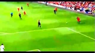 Raheem Sterling First Goal for Liverpool vs Bayern Leverkusen