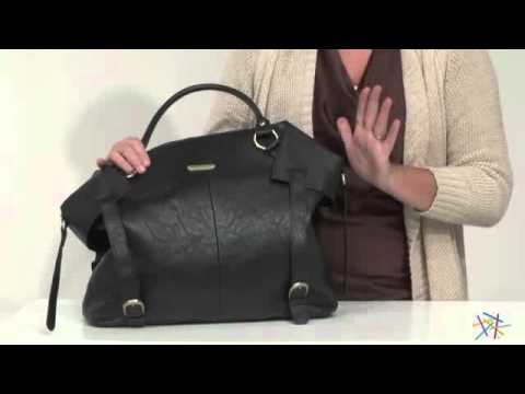 Timi And Leslie Charlie Tote Diaper Bag Black Product Review Video