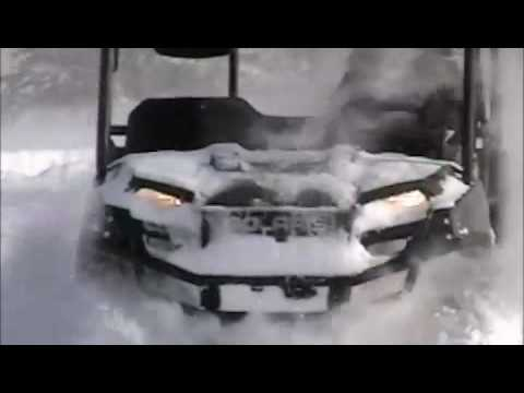 Polaris Ranger in Deep Snow