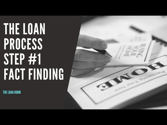 Home Loan Process Australia [Step #1: Fact Finding]