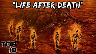 Top 10 TERRIFYING Secŗets To The Afterlife Found In History   Marathon