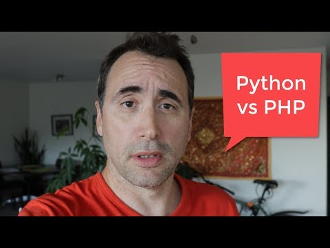 Does Stef think Python is BETTER than PHP?