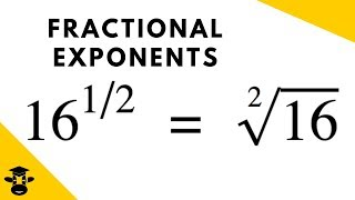 What do fractional expoฑents mean?