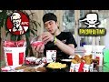The Challenge EPIC MEAL TIME Failed (KFC Full Menu)