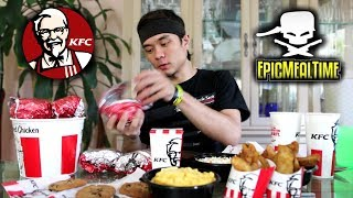 The Challenge EPIC MEAL TIME Failed (KFC Full Menu...