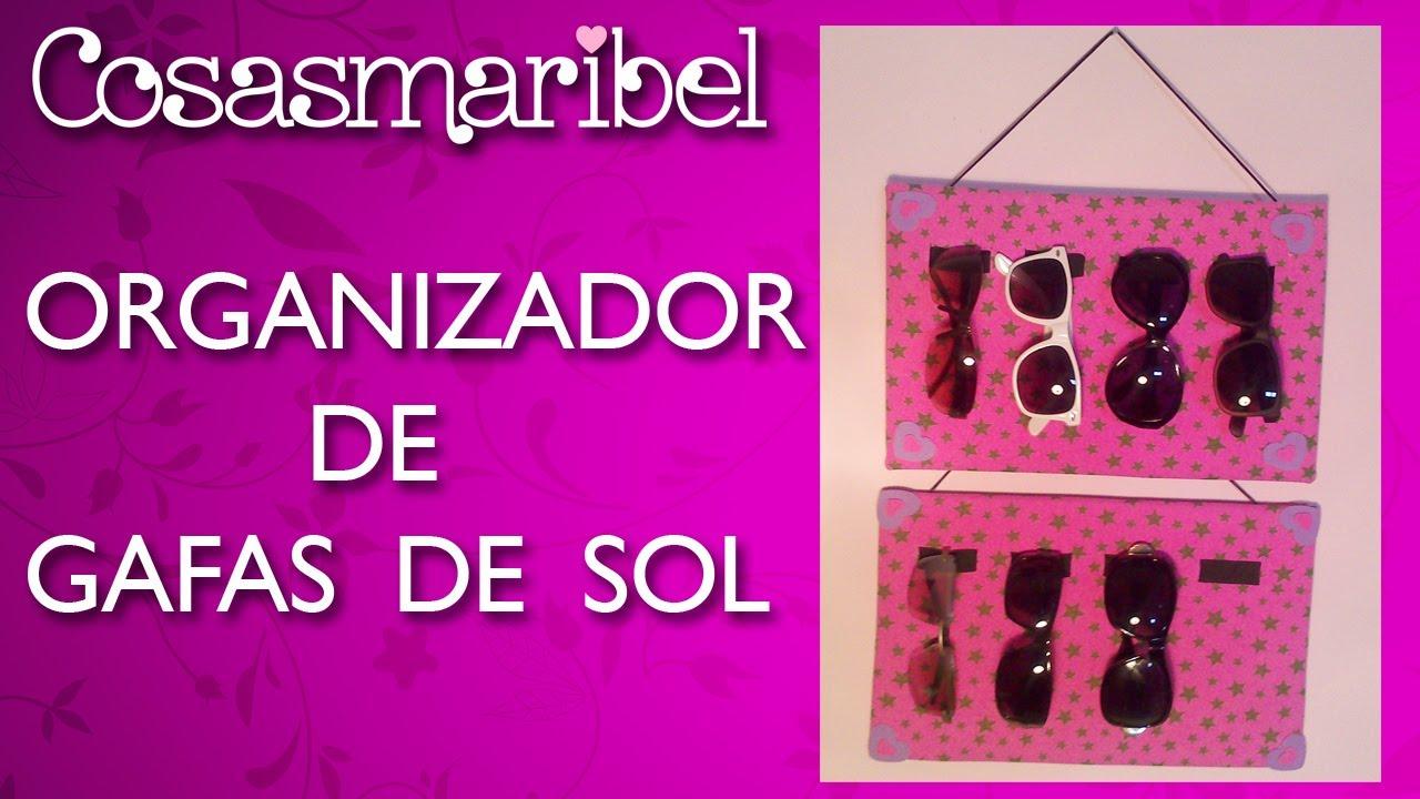 6a11b3bf92 DIY:Organizador para gafas de sol de goma eva paso a paso. - YouTube