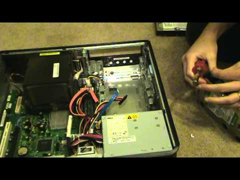 hqdefault how to replace a hard drive in a dell optiplex 755 youtube dell optiplex gx620 wiring diagram at webbmarketing.co