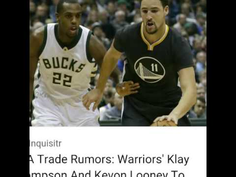 Klay Thompson Being Traded To the Milwaukee Bucks????