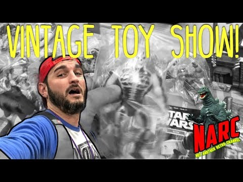 Toy Hunting VLOG: Vintage Toy Show!