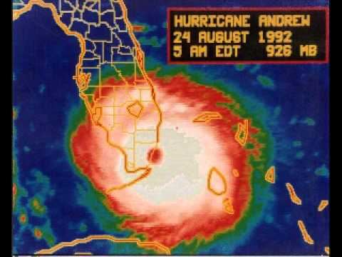 Hurricane Andrew Coverage by Stan Major (August 27, 1992)