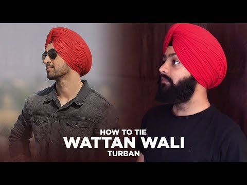 Wattan Wali Pagg | Diljit Dosanjh Style Turban | Freestyle Turban | HD Video