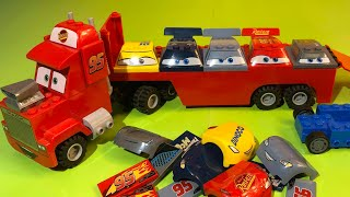 Disney cars 3 Mack and lightning mcqueen cruz ramirez lego toys pixar cars Тачки 3