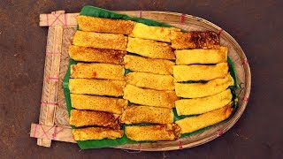 Aam Patishapta Recipe   Aam Pitha   Mango Patishapta Recipe