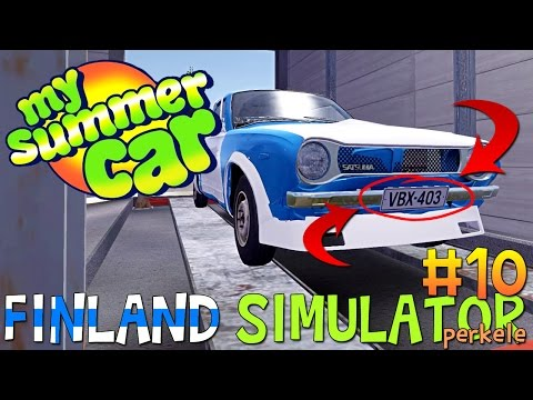 My Summer Car - CAR IS LEGAL! RACE TIME! - My Summer Car Gameplay | Early Access