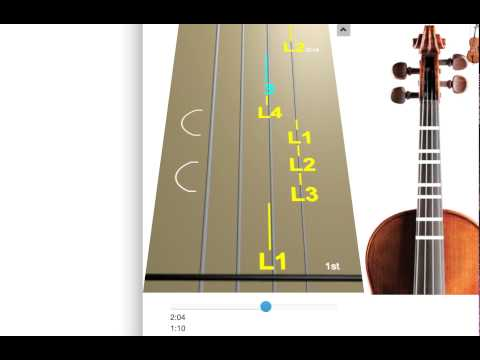 Learn Winter from The Four Seasons, Largo on Violin - How to Play Tutorial