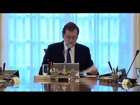 Spanish government starts crisis cabinet meeting on Catalonia