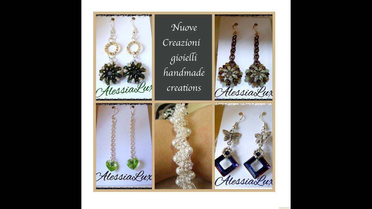 Super nuove creazioni fatte a mano-gioielli fai da te orecchini handmade  SE08