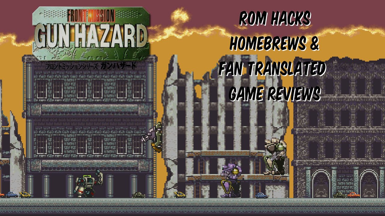 Front Mission Gun Hazard Snes Translated Youtube