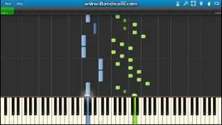 J.S.Bach - WTC, Book 1: Prelude No. 6 in D minor, BWV 851 piano (Synthesia)