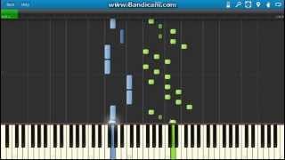 J.S.Bach - WTC, Book 1: Prelude No. 6 in D minor, BWV 851 piano (Synthesia)