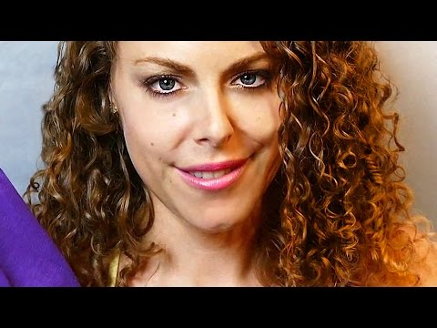 My Curly Hair Secrets – ASMR Soft Spoken Binaural Healthy Hair Tips & Fabric Sounds