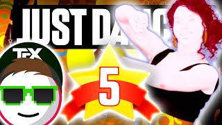 Just Dance 4 Mas Que Nada Sergio Mendes ft. The Black Eyed Peas ★ 5 Stars Full Gameplay