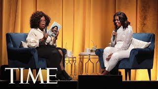 Michelle Obama Begins Her Book Tour With A Talk With Oprah | TIME
